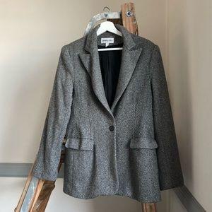 bloomingdale's cashmere blazer